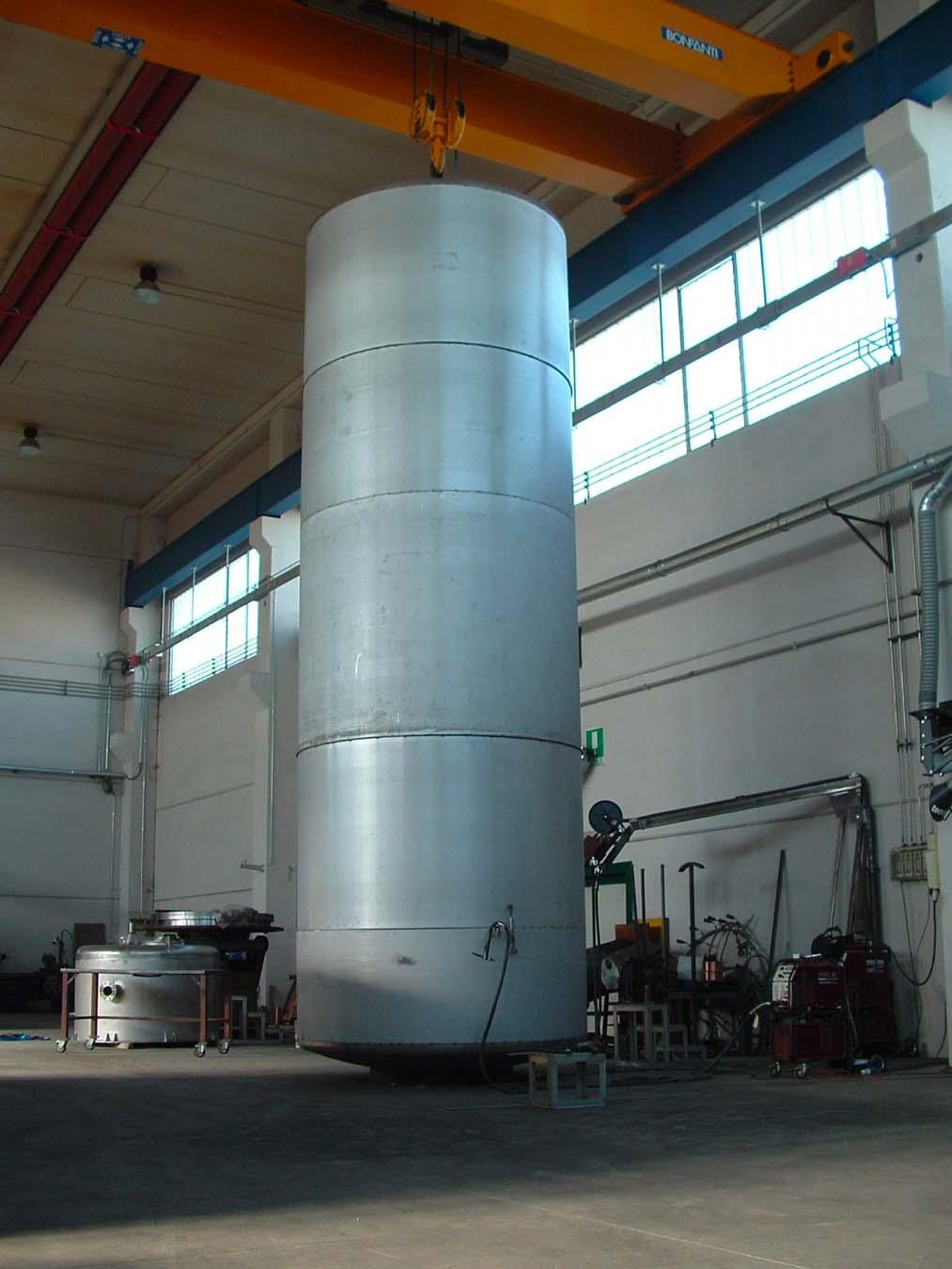 Serbatoi in acciaio inox | Carpenteria Locatelli Bergamo