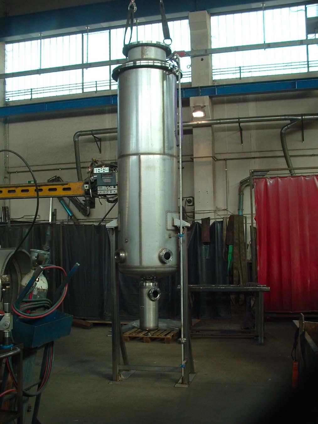 Filtro per impianto protossido | Carpenteria Locatelli Bergamo