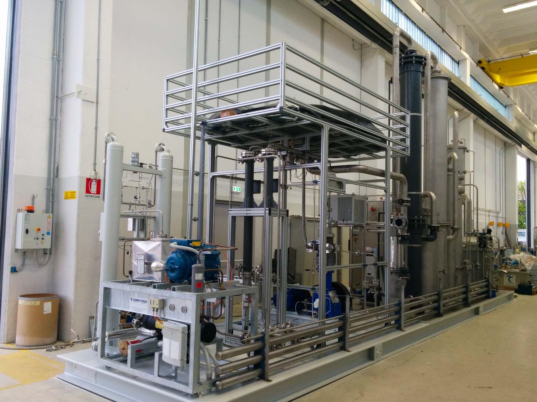 Impianto protossido | Carpenteria Locatelli Bergamo