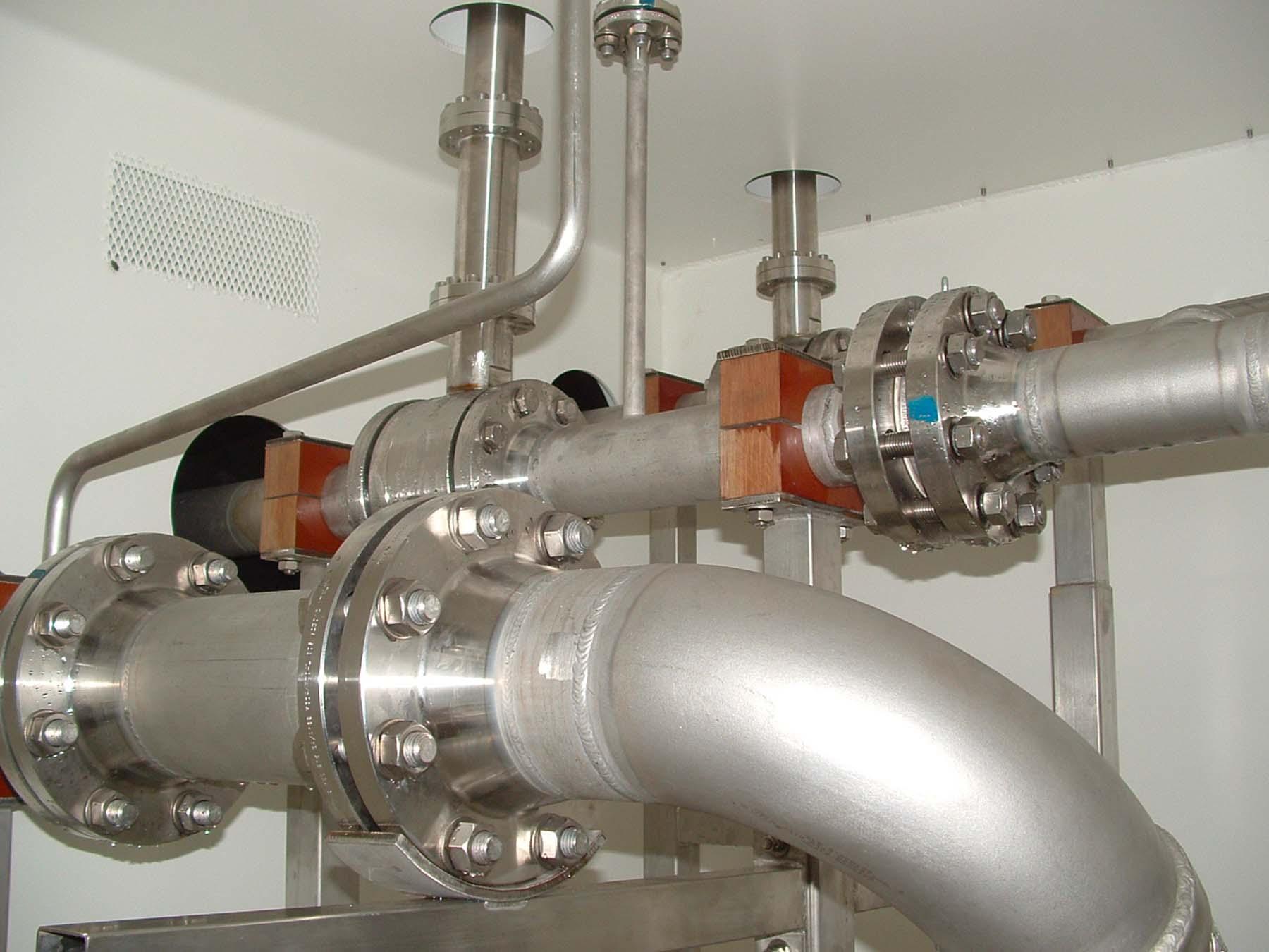 Pompa centrifuga – Particolari | Carpenteria Locatelli Bergamo
