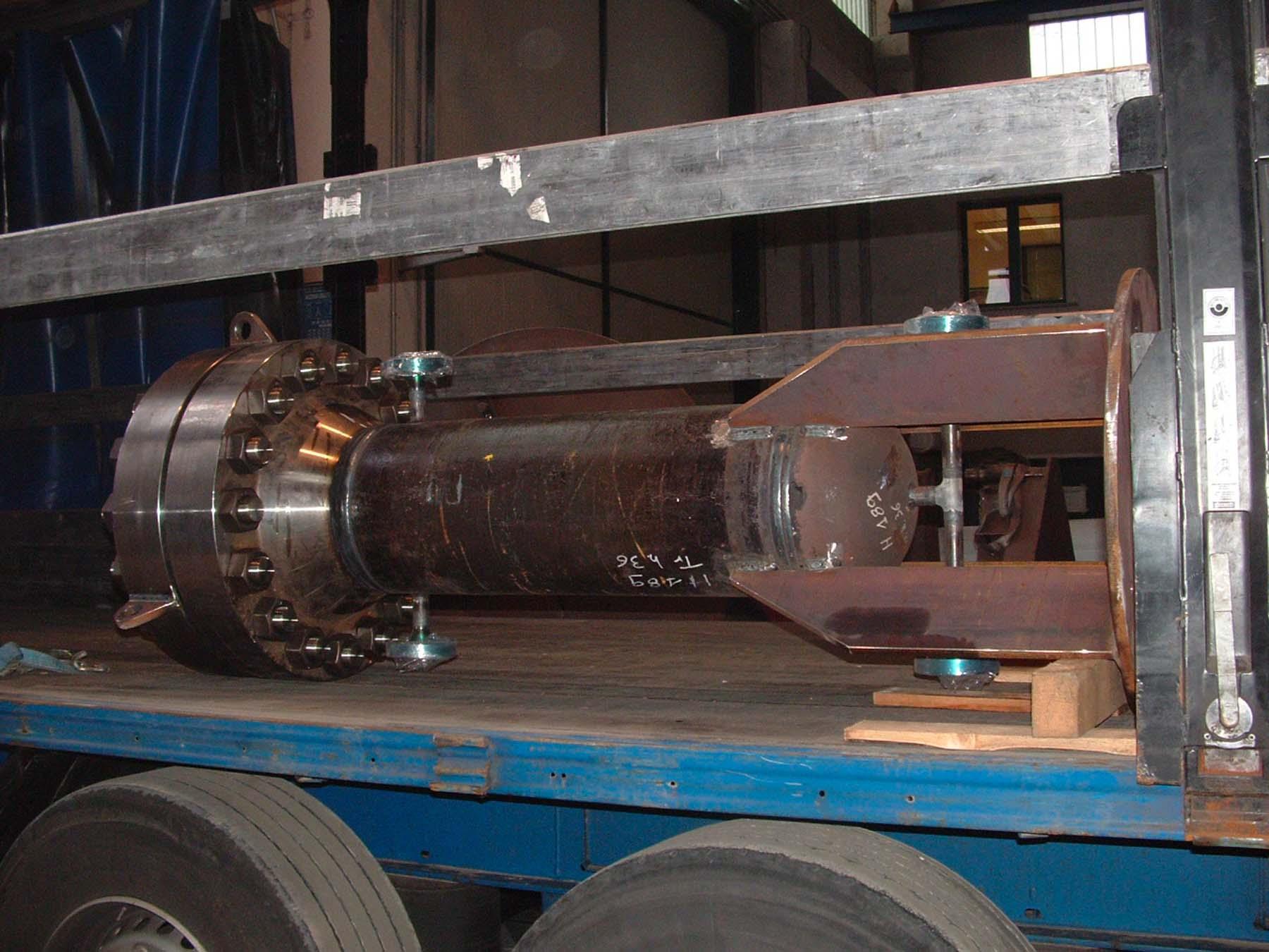 Smorzatore di pressione – in acciaio al carbonio | Carpenteria Locatelli Bergamo